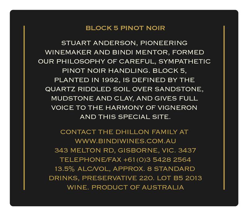 BINDI Block 5